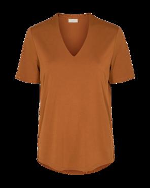 Freequent YR-SS-BL shirt Caramel Cafe
