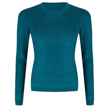 Esqualo Sweater shoulder gathering Harbor Blue