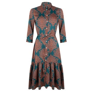 Esqualo Dress long fern print