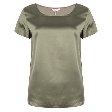 Esqualo T­shirt silk basic Mermaid Gree
