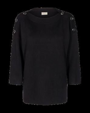 Freequent Ani-pu Zwarte trui