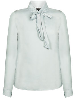 Tramontana Top L/S Scarf Faded Blue