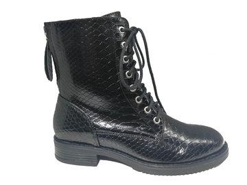 PS Poelman Snake Pu Biker boots