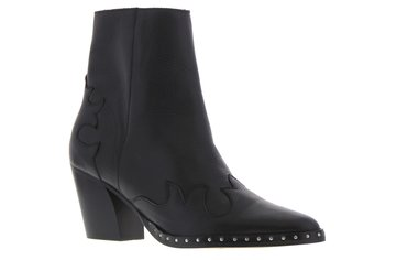 Tango Ella oblique 12-b Black Leather Boot
