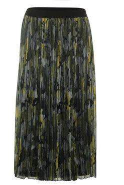 Poools Skirt print plissé Mixed print