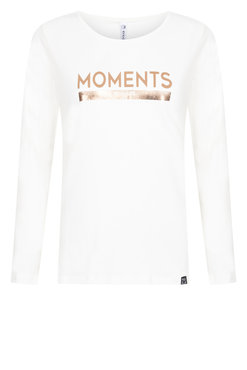 Zoso Moments Shirt met borstafdruk