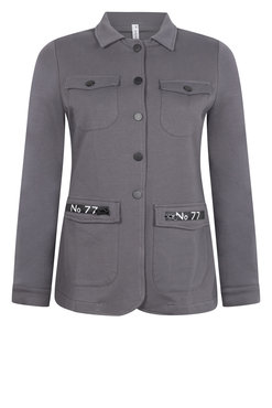 Zoso Myriam Sweat Jacket met rits