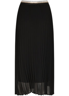 Tramontana Skirt Plisse Zwart
