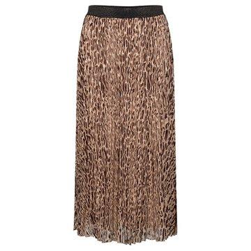 Esqualo Skirt  zebra jacquard print