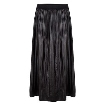 Esqualo Skirt long fake pu