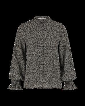 Aaiko Colby Minimal PES 564 zwarte blouse