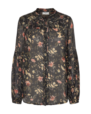 Freequent Bjork-bl blouse met bloemenprint