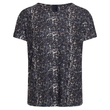 One two luxzuz Karin Leo  t-shirt Deep Forrest