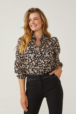 Aaiko Nien co 546 bloemetjes blouse