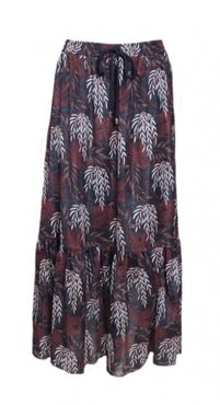 20to Skirt Autumn Leaves Navy