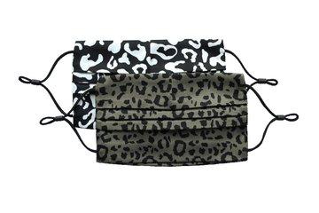 Dayz Marly - 2 mondkapjes Black & Khaki