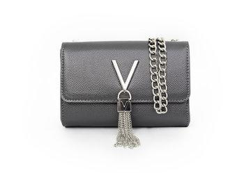 Valentino tas zwart Divina kleine Handtas VBS1R403G