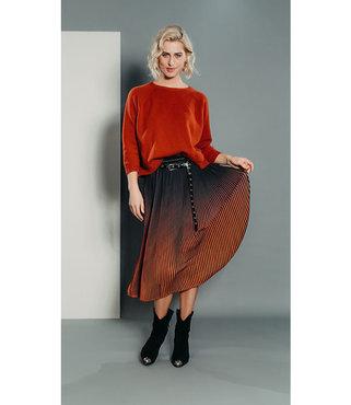 Poools Skirt Ombre Brick