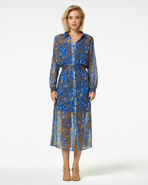 Freebird Midi dress long sleeve HARPER BELT