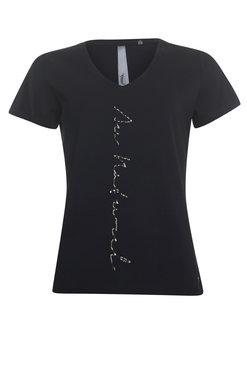 Poools T-shirt Au naturel Zwart