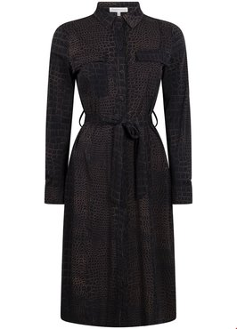 Tramontana Dress Travel Croco Print