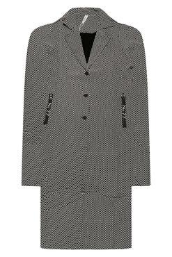 Zoso  Madeline Printed sporty long blazer