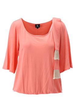 PRE ORDER: K-Design Top met sjaaltje Coral