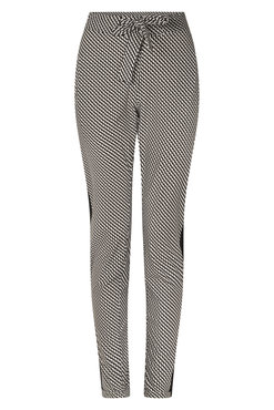 Zoso  Isabel Printed travel pant with piping