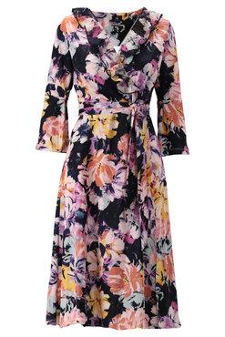 K-Design Midi jurk met bloemen print