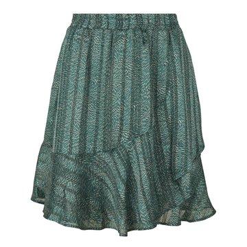 Esqualo Skirt ruffle wheat print