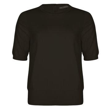 Esqualo Sweater s/slve CB button