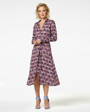 Freebird Dynthe Midi dress long sleeve