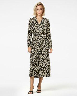 Freebird Vikas Midi dress long sleeve