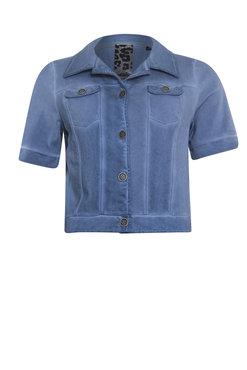 Poools Jacket short sleeve blue shadow
