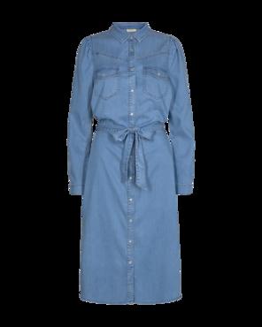 FREEQUENT FQFIA-L-DR-PUFF Vintage Blue Denim