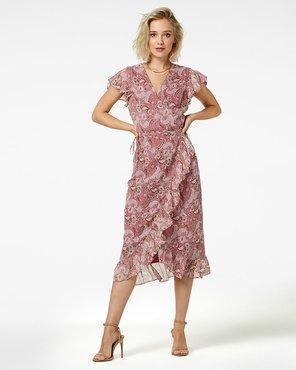 Freebird Midi dress short sleeve ROSY MIDI