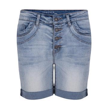 Esqualo Shorts Bermuda button Blue