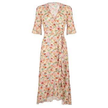 Esqualo Dress wrap garden flower