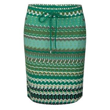 Esqualo Skirt Green garden print