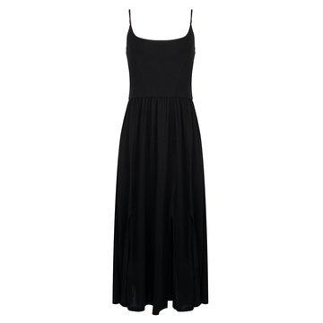 Esqualo Dress Beach Long Black