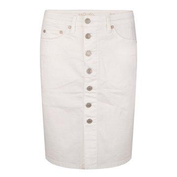 Esqualo Skirt jeans buttoned closure