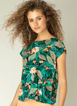Yest Kiona kleur Jungle Green/MultiCo
