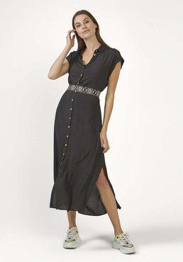Aaiko Valka Mesh Grey VIS 531 jurk