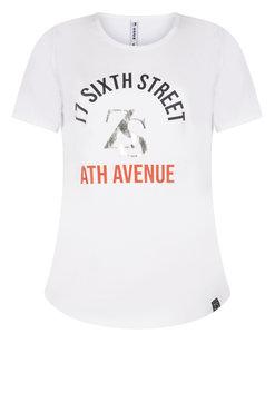 Zoso Sixth T shirt with print white