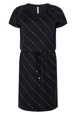 Zoso Patty Sporty printed dress navy