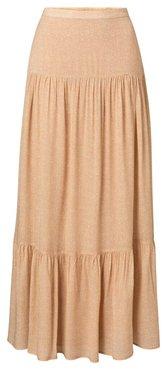 Yaya Viscose printed maxi skirt