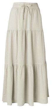 Yaya Romantic maxi skirt