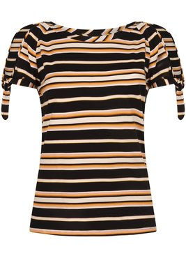 Tramontana Top S/S Dark Summer Stripes