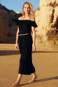 Tramontana Dress Off Shoulder