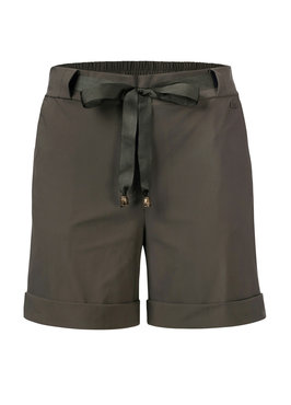 Dayz Arezzo Army korte broek van travel stof